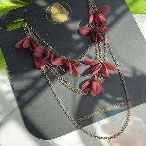 Forever 21 - Chained Floral Headpiece
